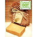 Soap Nuts Shampoo Bar: Saponin Secret w/ Citrus, 2.5+ oz