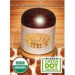 NaturOli Soap Nuts Powder, Natural Detergent & Cleanser, 3.5 oz jar