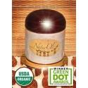 NaturOli Soap Nuts Powder, Natural Detergent & Cleanser, 3.5 oz jar