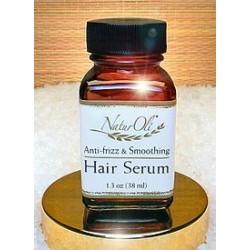 NaturOli 100% Natural Anti-Frizz and Smoothing Hair Serum & Detangler With Argan Oil (1.3 oz)