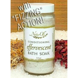 Conditioning Effervescent Bath Soak, Fizzing Action, 3.5 oz
