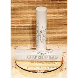 Natural Chap Relief Balm, Peppermint, 2-pack