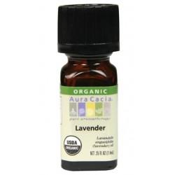 Aura Cacia Lavender Essential Oil, ORGANIC (Lavandula angustifolia)