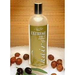 Extreme Hair Soap Nut-Soap Berry Shampoo, Dry to Normal, Unscented